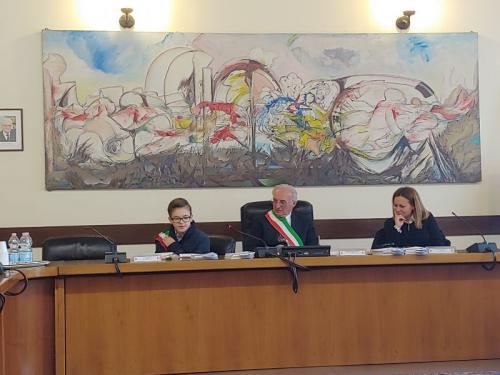 discorso del vice sindaco uscente