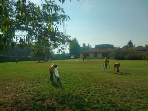 Ripuliamo il giardino