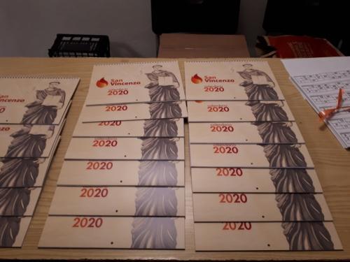 Il calendari per l'anno 2020