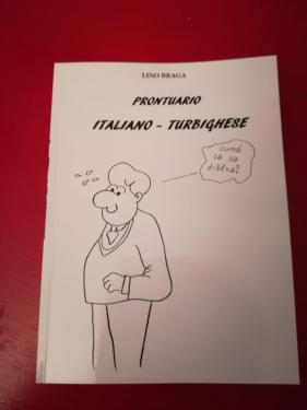 "Copertina del ""Prontuario italiano – turbighese"""