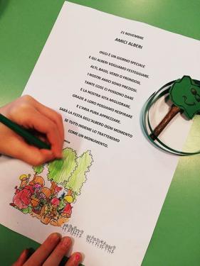 """Poesia """"Amici alberi"""""""