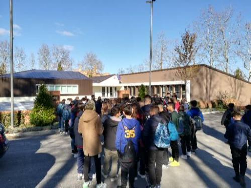 La bellissima nuova scuola secondaria di Sarnano