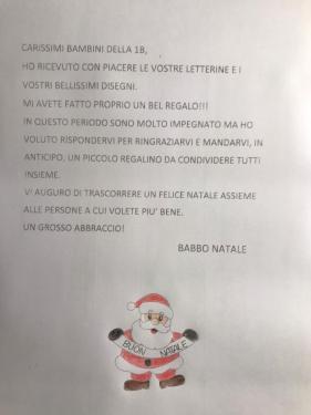 La risposta di Babbo Natale!!!
